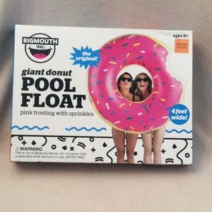 Bigmouth Giant Donut Pool Float